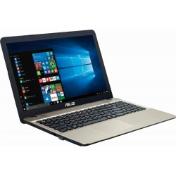"Asus - VivoBook Max 15.6"" Intel Pentium Laptop - Chocolate black"